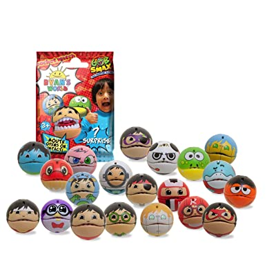 RYAN'S WORLD Gobsmax 36 Single Pack Perfect for Goodie Bags or Collectors (RWG02): Toys & Games