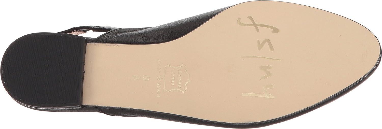 French Sole Womens Breezy B076P1DYD6 8.5 B(M) US|Black Softy Calf