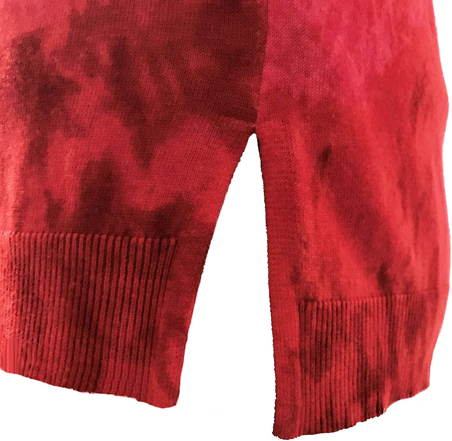Chaus Womens Tie Dye Ombre Holiday Sweater