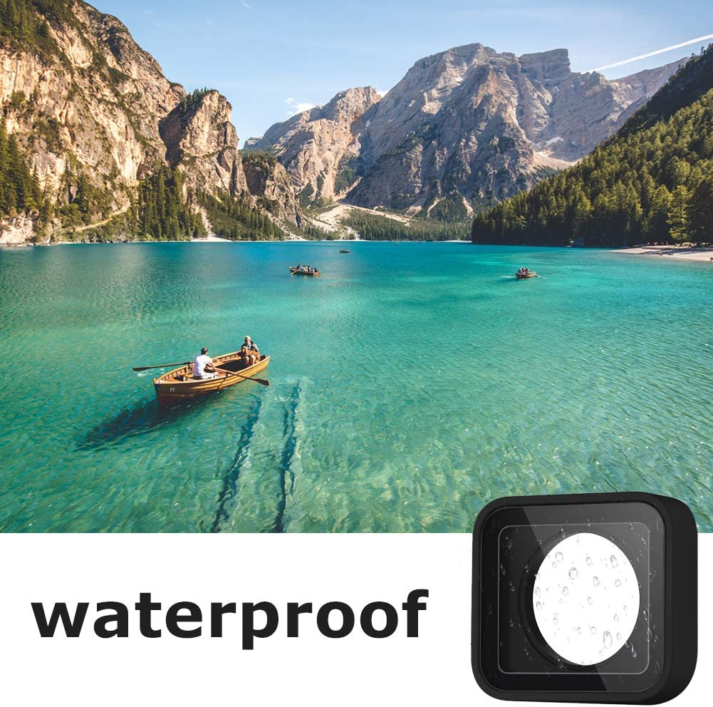 ParaPace Protective Lens Replacement for GoPro Hero 7//6//5 Black Glass Cover Case Action Camera Accessories Kits Gray