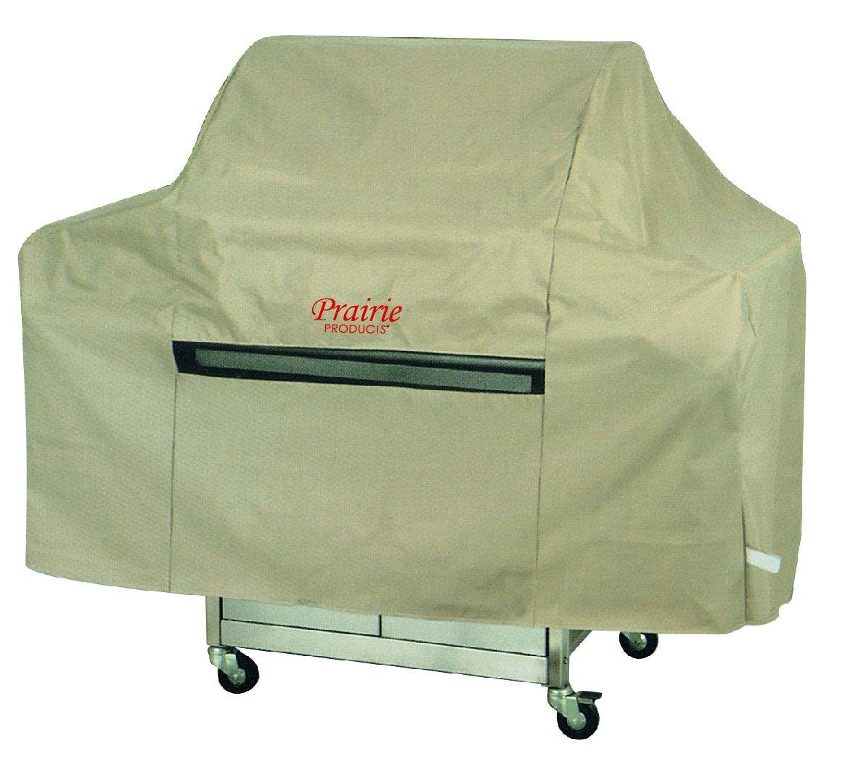 Prairie Premium Wagon Style Grill Cover, X-Large, Tan