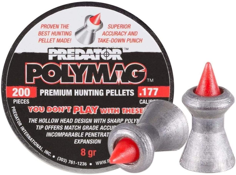 JSB Predator Polymag .22 Calibre Pellets Samples of 25 Pellets.