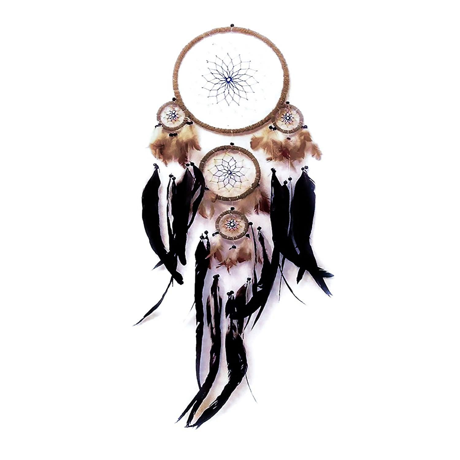 Dreamcatcher with coloured net by Artwork Indian Woru
