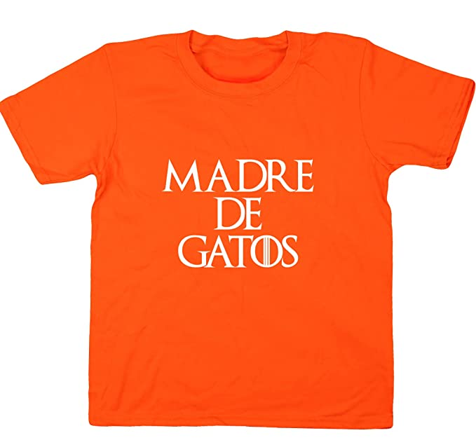 HippoWarehouse Madre de Gatos camiseta manga corta niños ...