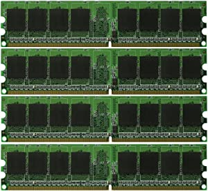 New! 8GB 4X2GB Dell OptiPlex 745 DDR2 PC2-5300 Memory