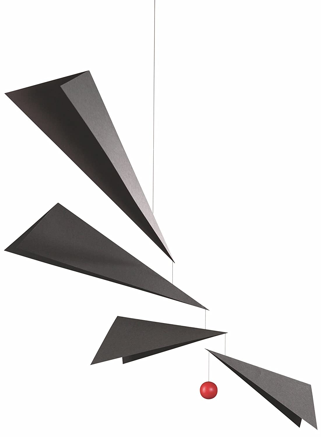 36 Inches Plastic Handmade in Denmark by Flensted Wings Hanging Mobile