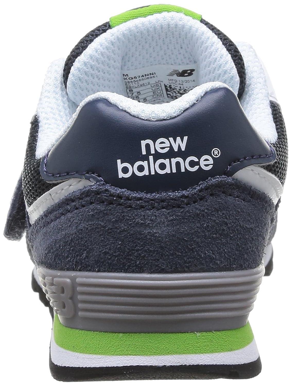 Nouvel Équilibre 574 Formateur Velcro Bleu / Orange UObDoGlNl