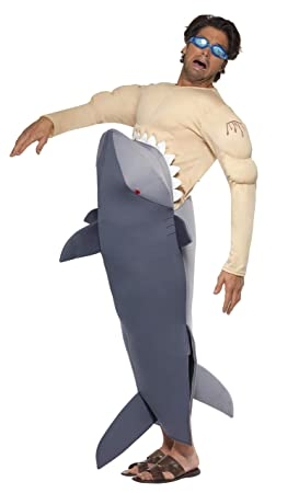 Smiffys - Disfraz de tiburón para hombre, tamaño universal