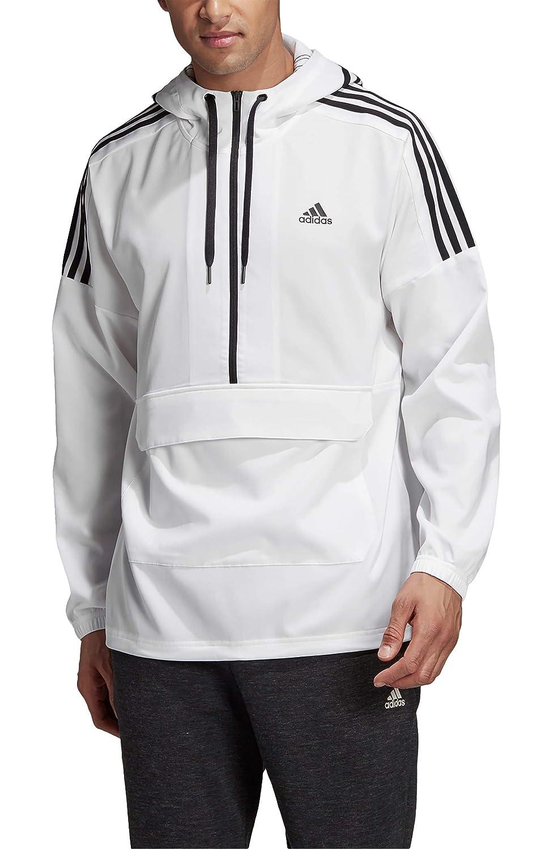 [アディダス] メンズ ジャケットブルゾン adidas Sport ID Hooded Half Zip Anorak [並行輸入品] XX-Large  B07QT7HQS6