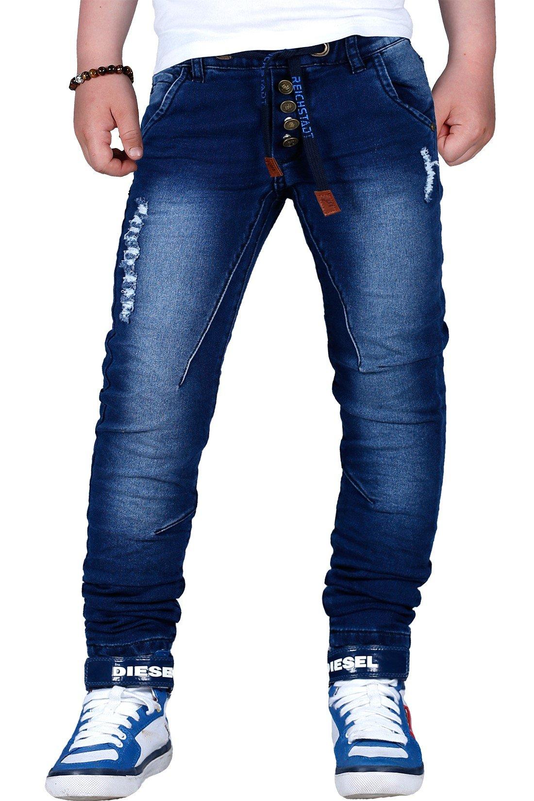 Reichstadt Jungen Kinder Hosen Jeans Jogging Biker Used 6-16 Wow product  image 90dc6b5022