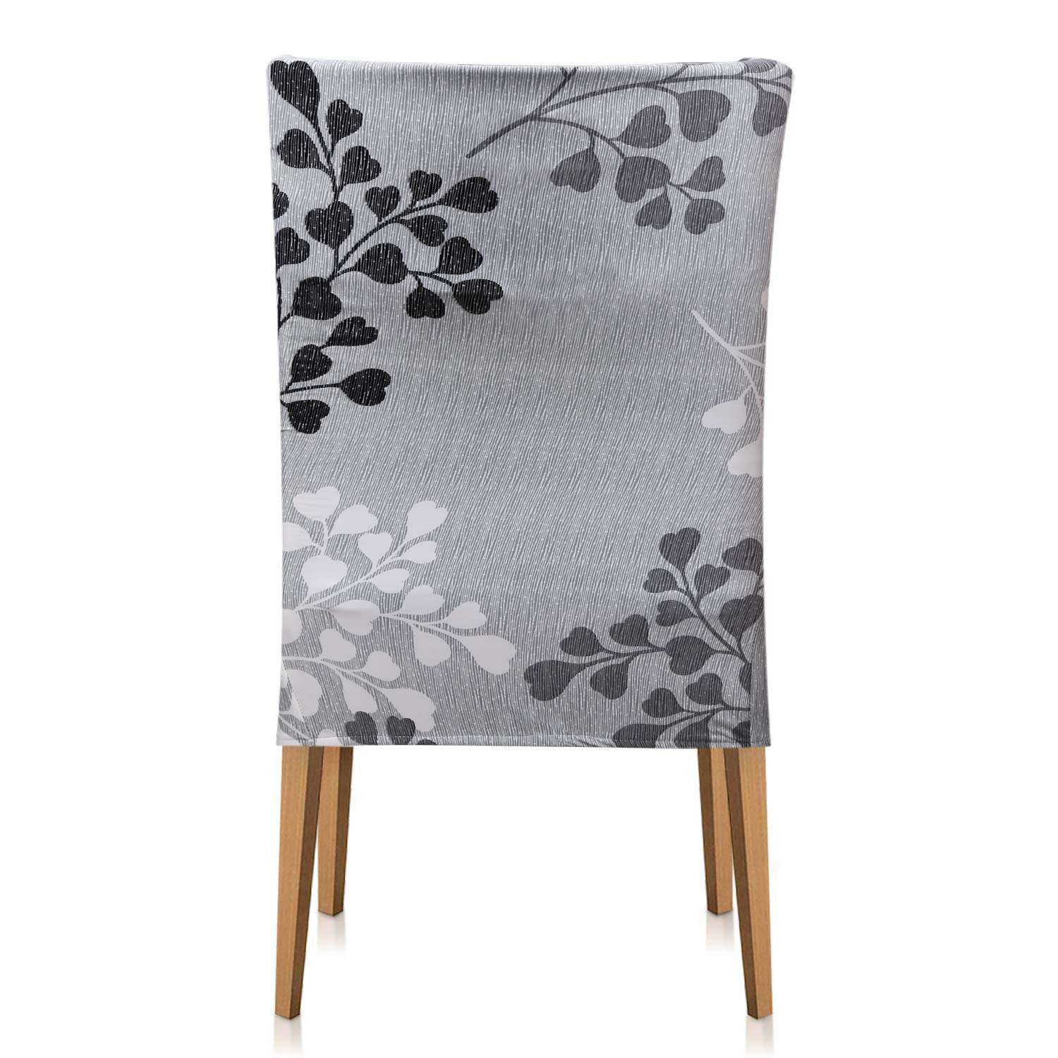 Xflyee Stretch Dining Room Chair Covers Jacquard Removable Washable