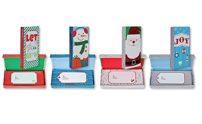 Amazon.com: Glitter y aluminio acabado regalo de Navidad ...