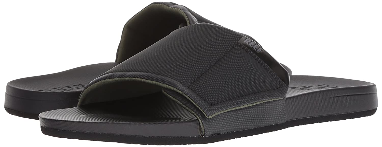 fb24cb6cc3f Amazon.com | Reef Men's Cushion Bounce Slide Sandals | Slippers