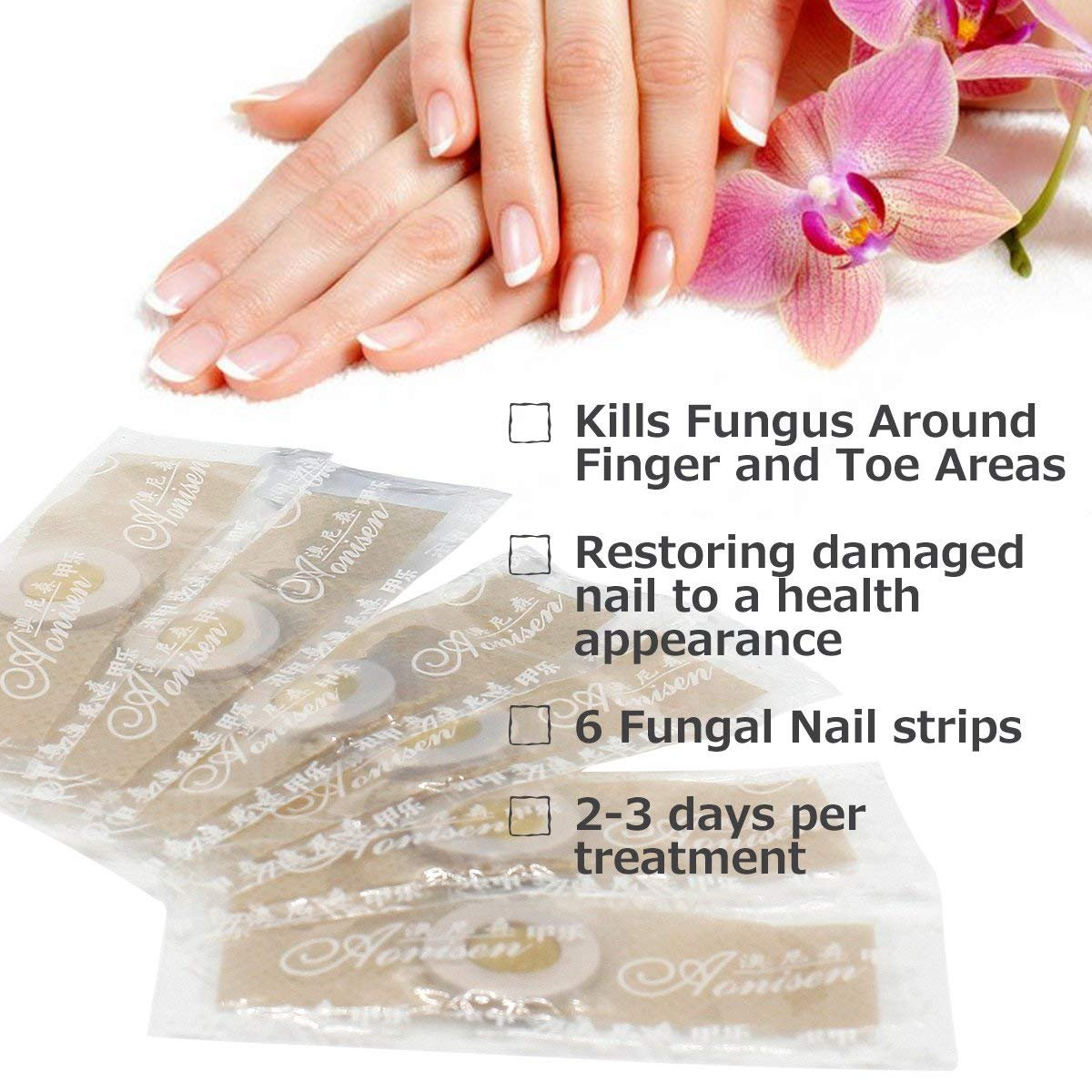 Nail Fungus,Antifungal Nail Treatment,Toenail Fungus Treatment,Antifungal Nail Gel,Removal of Fingernail and Toenail Fungus by LDREAMAM (Image #4)