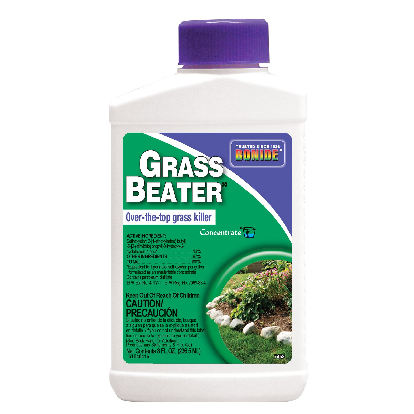Bonide (BND7458) - Grass Beater Concentrate, Over-the-Top Grass and Weed Killer (8 oz.)
