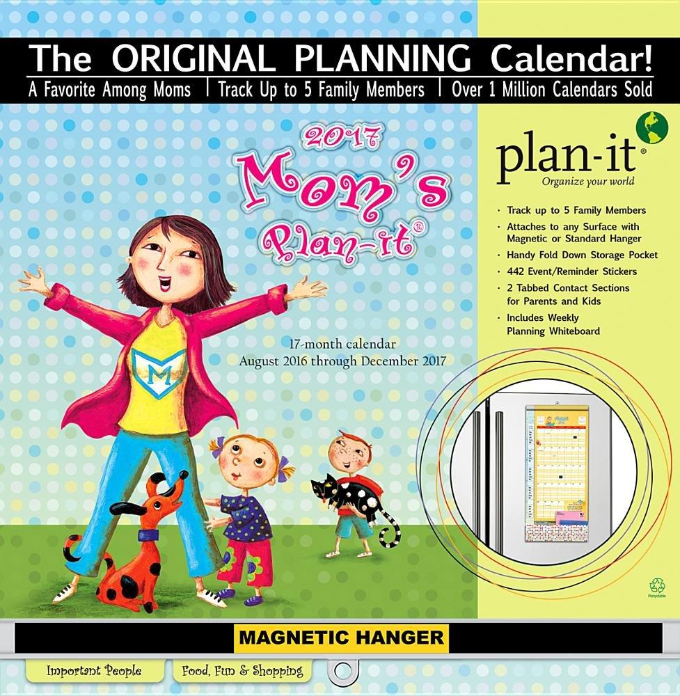 Download Mom's Plan-It 17-Month 2017 Calendar pdf