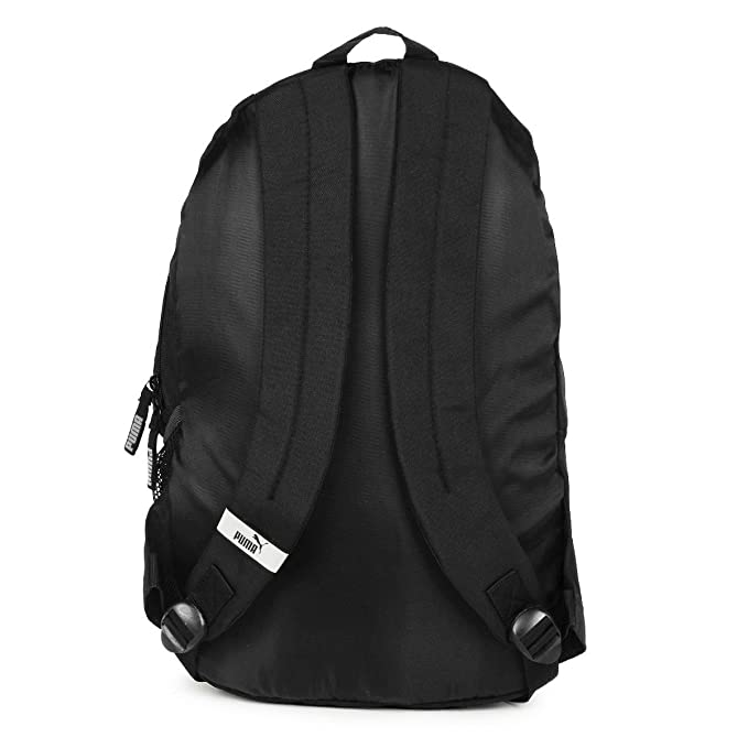 c49ef33bac Puma Unisex Echo Plus Black   White 27 L Backpack  Amazon.in  Bags ...