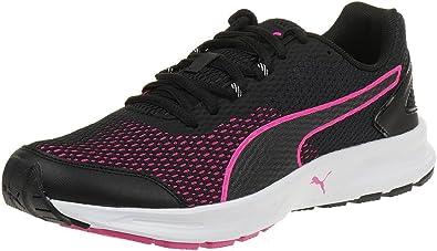 Puma Descendant v4 Wns, Zapatilla para Mujer, Negro (Black-Pink GLO 02), 42: Amazon.es: Zapatos y complementos