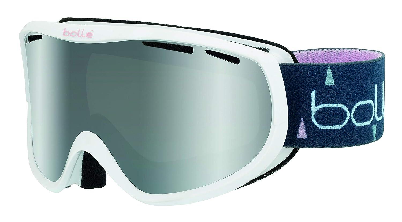 Bolle Unisex's Sierra Goggles, White & Pink, Small/Medium