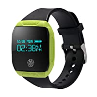 Willful Podomètre Bluetooth montre Fitness Bracelet étanche waterproof contrôle musique Notifications appels & Messages pour iOS Android vélo natation course running Swimming Femme Homme