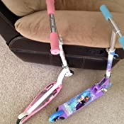 Amazon.com: Disney Frozen Girls Inline Scooter: Sports ...