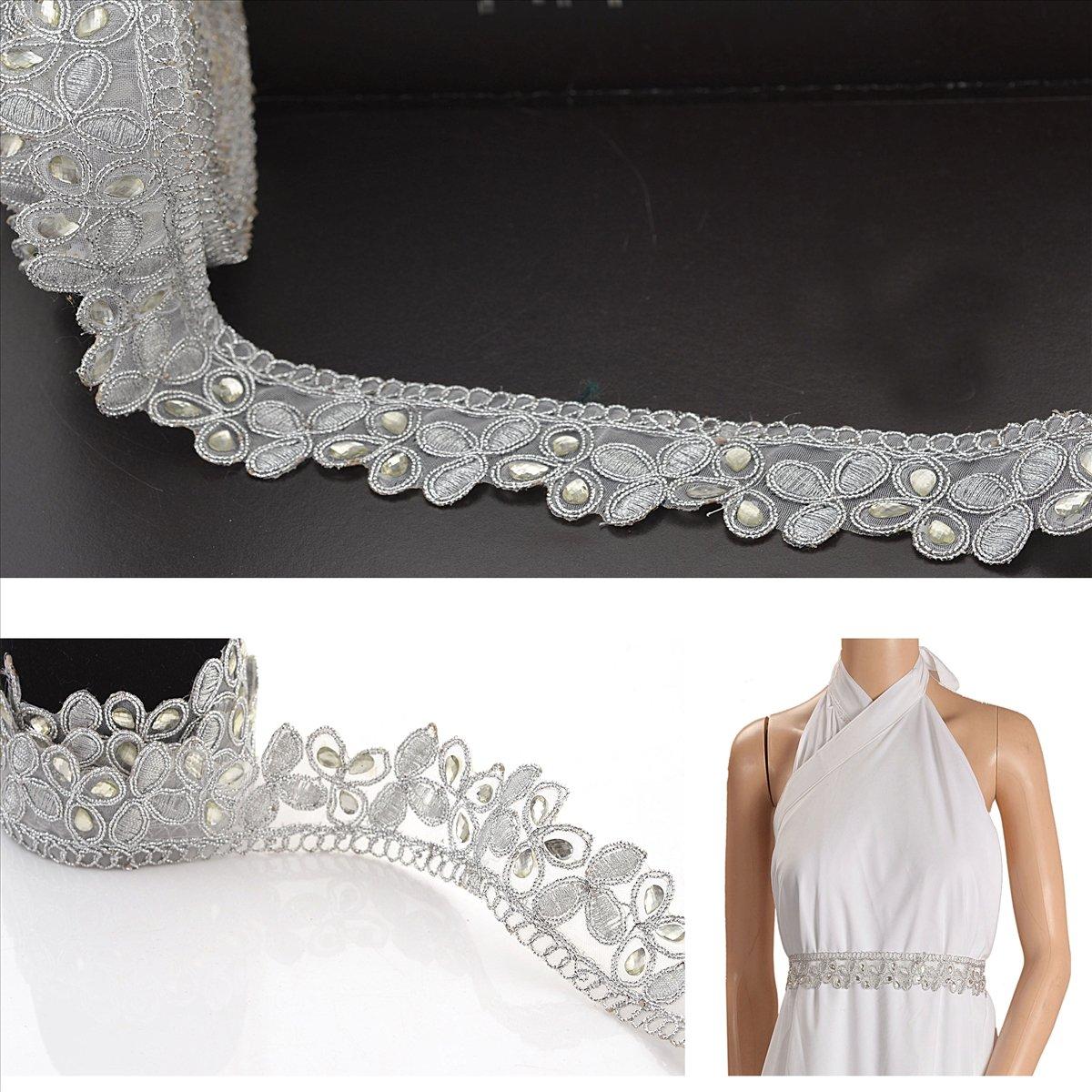 Amazon Com Bridalmary Hand Beaded Dress Bridal Diy 1 Yd Wedding