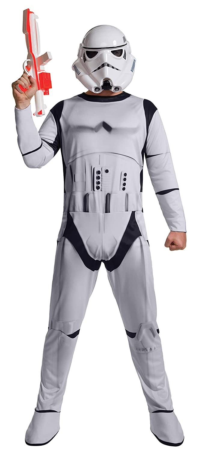 Rubies Mens Star Wars Episode Vii: the Force Awakens Value Stormtrooper Costume