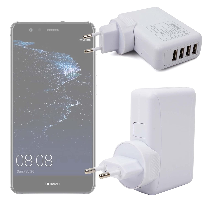 DURAGADGET Cargador De Viaje para Smartphone Huawei P10 Lite ...