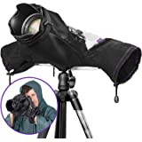 Altura Photo Professional Camera Rain Cover for Canon Nikon Sony DSLR & Mirrorless Cameras - Altura Photo Camera Accessories