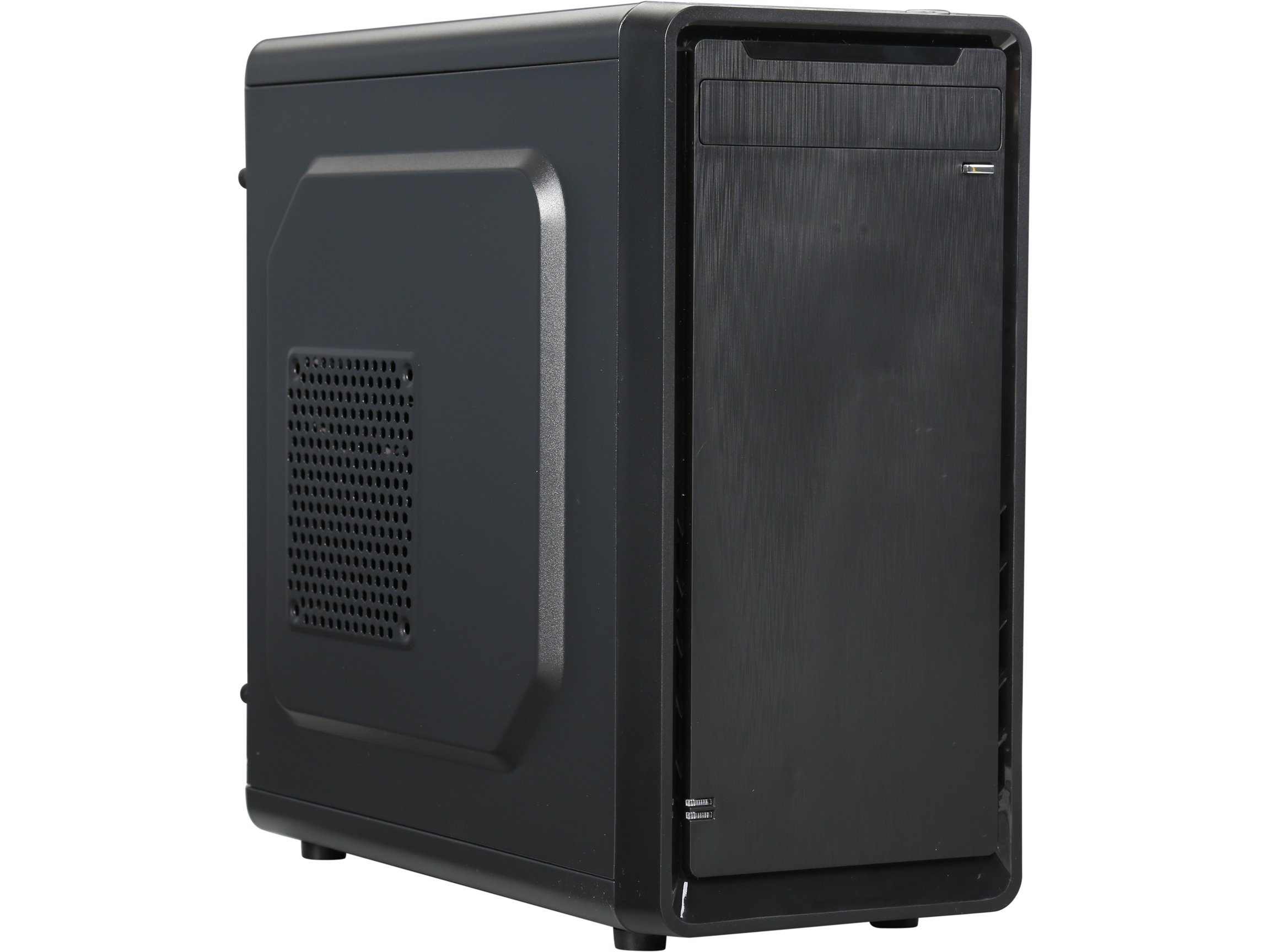 Rosewill Micro ATX Mini Tower Computer Case, Steel and plastic computer case with 1 x 80mm rear fan, Top I/O ports: 1x USB3.0, 2x USB 2.0 and Audio In/Out ports (SRM-01)