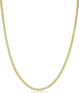 14kt Solid Gold Full 1MM Box Chain-16//18//20//24//30 inch W//Y GOLD w//LOBSTER LOCK