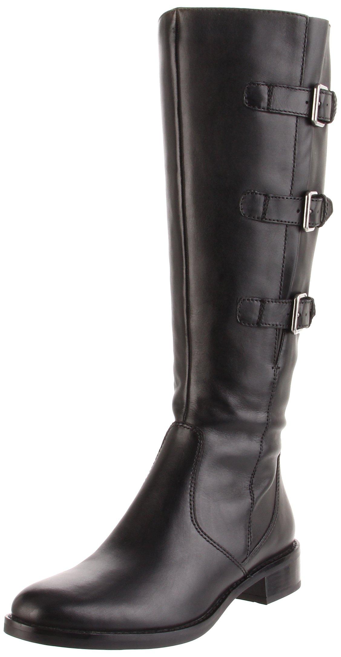 ECCO Women's Hobart Buckle Boot,Black,39 EU (US Women's 8-8.5 M)