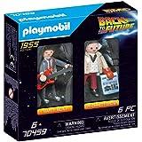 Playmobil Marty Mcfly e Dr. Emmett Brow, De Volta Para o Futuro, Sunny