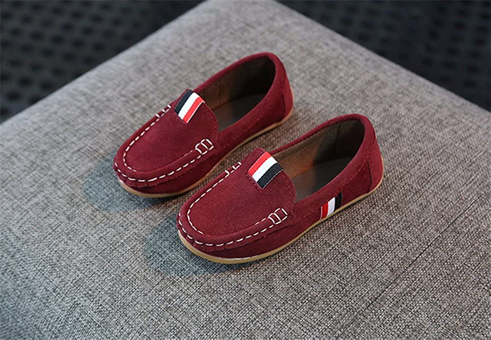 Toddler//Little Kid// xiaoyang Girls Boys Slip-on Loafers Shoes Casual Sneakers Boat Shoe