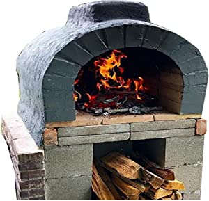 Brick Oven Plans DIY Outdoor Cooking Pizza Patio Party Ribs Backyard Woodfire
