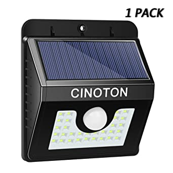 Cinoton solar security lights 30led 3 modes solar wall lights cinoton solar security lights 30led 3 modes solar wall lights motion sensor lights outdoor waterproof mozeypictures Gallery