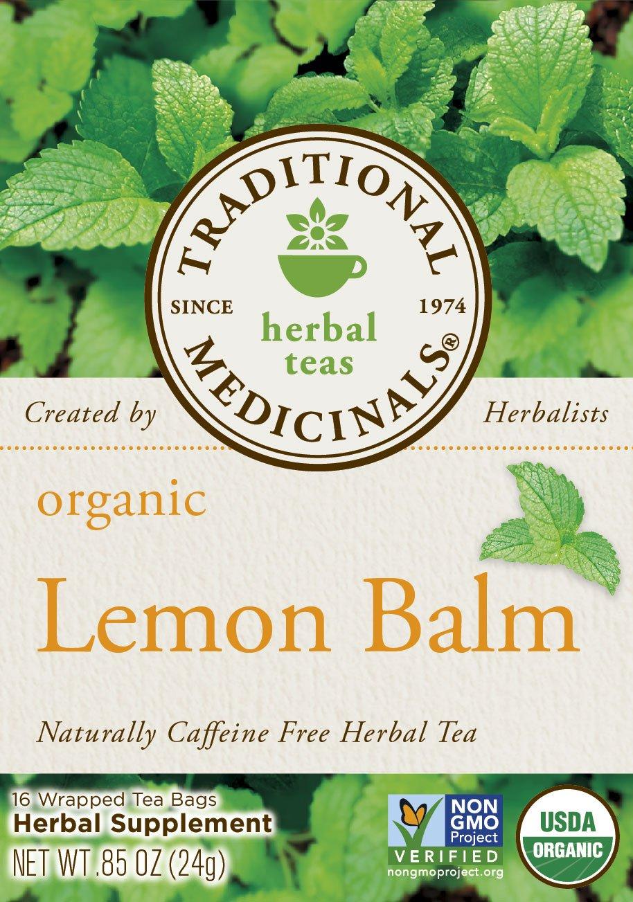 Traditional Medicinals Organic Lemon Balm Tea, 16 Tea Bags (Pack of1) by Traditional Medicinals (Image #3)