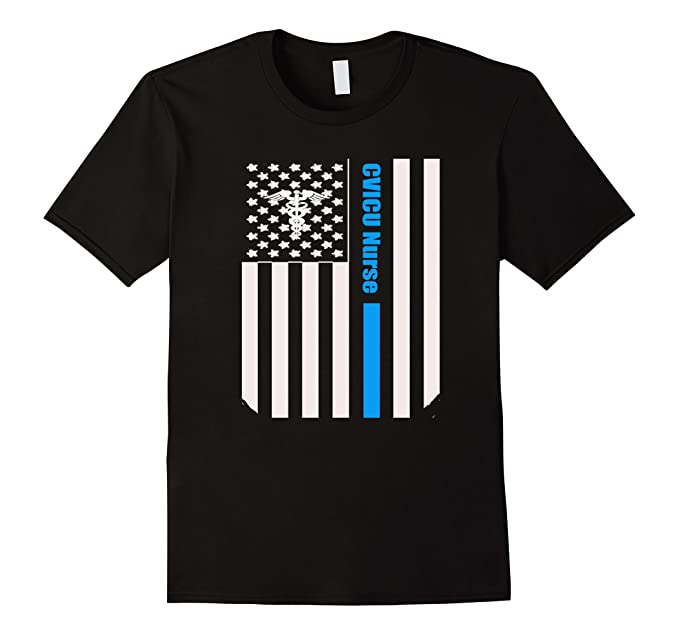 amazon com cvicu nurse distressed american flag nurse tshirt clothing