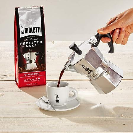 Bialetti Moka Express Cafetera Italiana Espresso, Aluminio, Plateado, 6 Tazas: Kohn: Amazon.es: Hogar