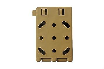 Bio Mordiscos Tac-clip para fundas de kydex (marrón).