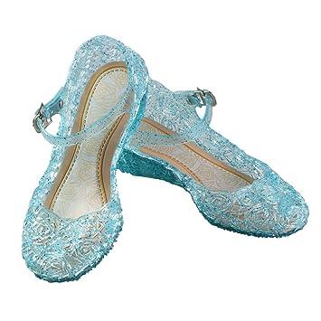 URAQT Zapatos de la Princesa, Zapatos de Disfraz Niñas ...