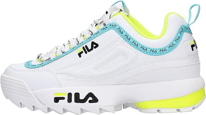 Zapatilla Fila Disruptor Neon Mujer: Amazon.es: Zapatos y complementos