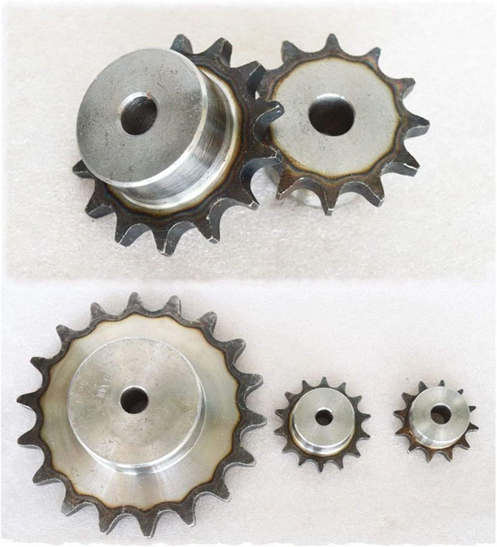 #35 Chain Drive Sprocket 25T Pitch 3//8 For #35 06B Roller Chain #35-25T