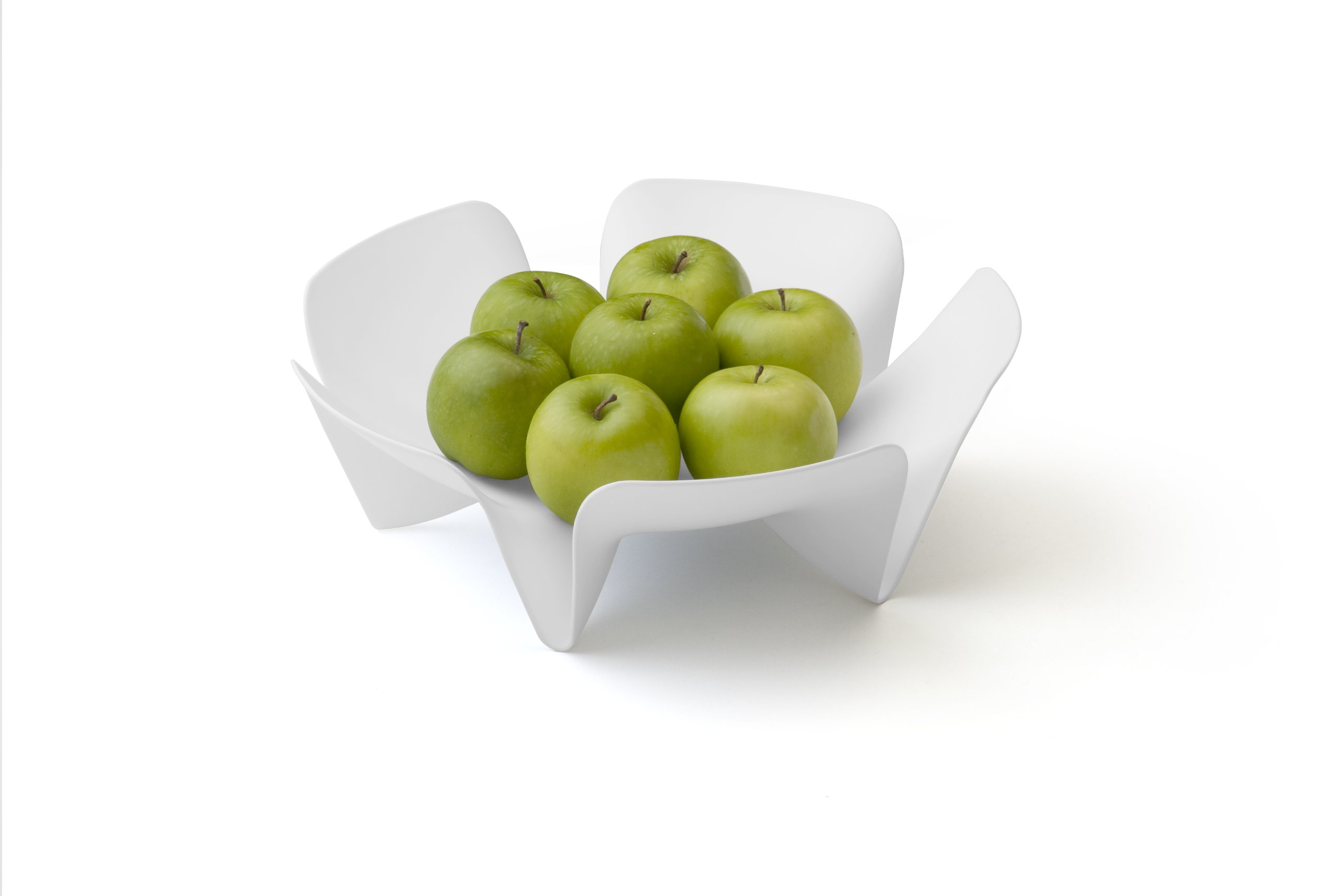Qualy Flower Fruit Tray Blue by Qualy (Image #4)