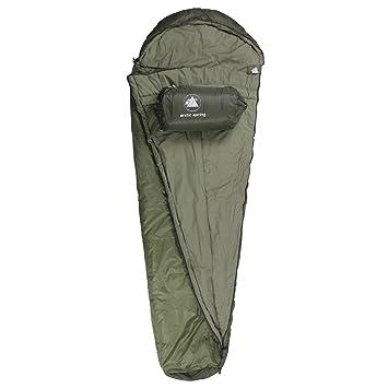 10T Outdoor Equipment Arctic Spring Saco de dormir de la momia, Verde, Estándar: Amazon.es: Deportes y aire libre