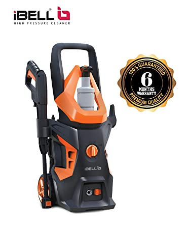 iBELL WIND55 Universal Motor 1600 Watt Pressure Washer (Black & Orange)