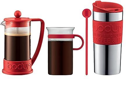 Bodum - K10948-294 - Coffe Set - Set de café - cafetera 3 Tazas ...