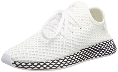 adidas Originals Sneaker Deerupt in Mesh Bianca 9,5(UK) 10(US) White