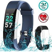Rayfit Pulsera Actividad Inteligente Reloj Deportivo Impermeable Fitness Tracker…