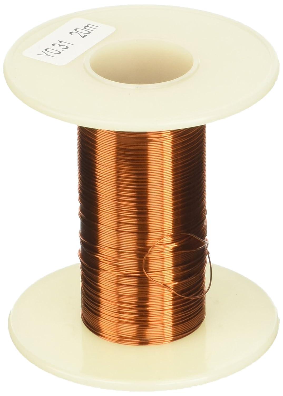 Sourcingmap - 0.31mm ppa de soldadura soldadura de cobre esmaltado de bobinado de alambre 20m 65.6ft: Amazon.es: Industria, empresas y ciencia